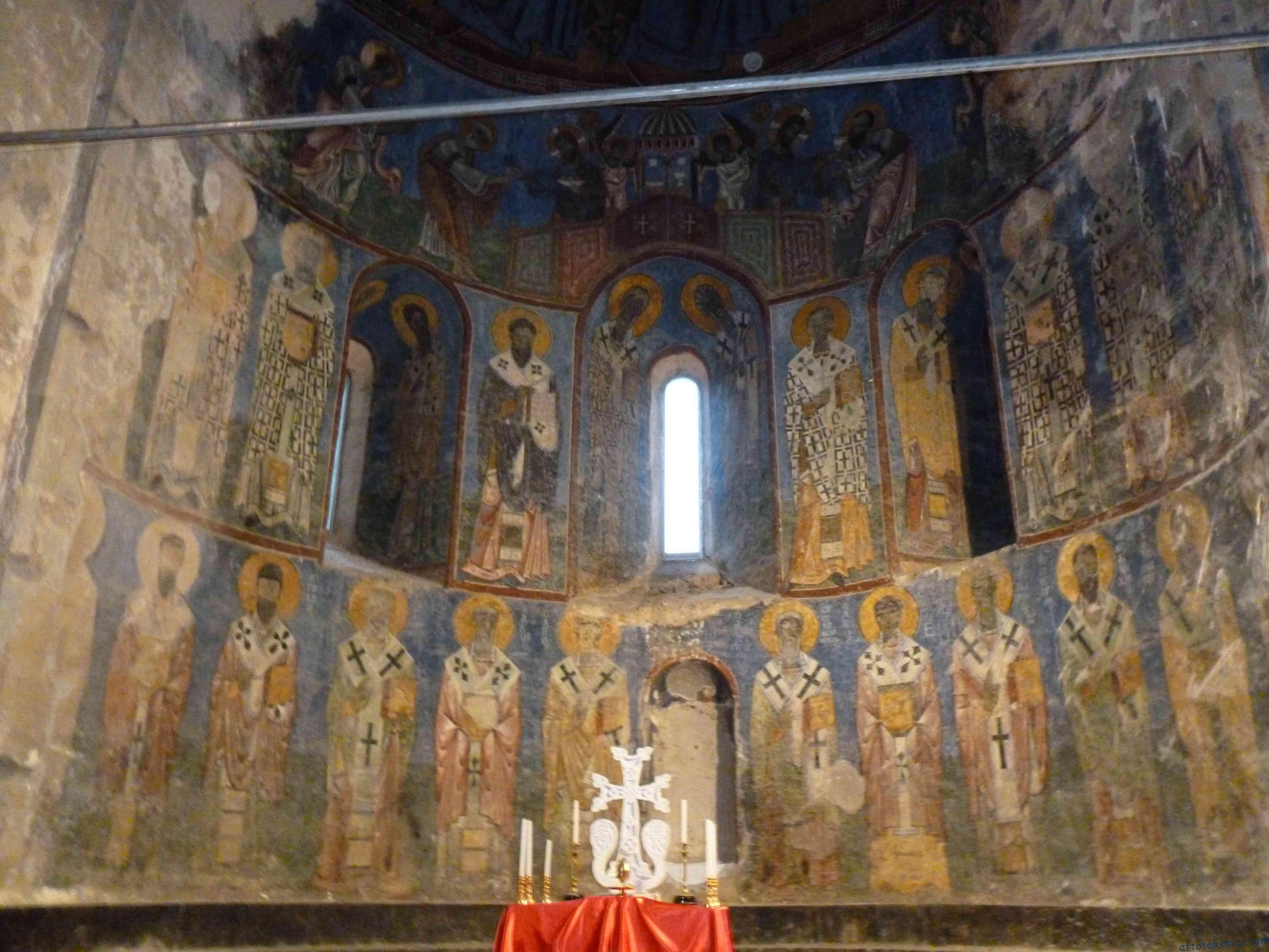 Причащение Апостолов и Святители