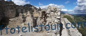 Развалины крепости Виллаурдэн