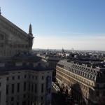 Париж вид с крыши Лафайет