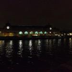 Орсе ночной и Сена