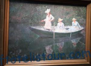 рыбачки Клода Моне музей Орсе
