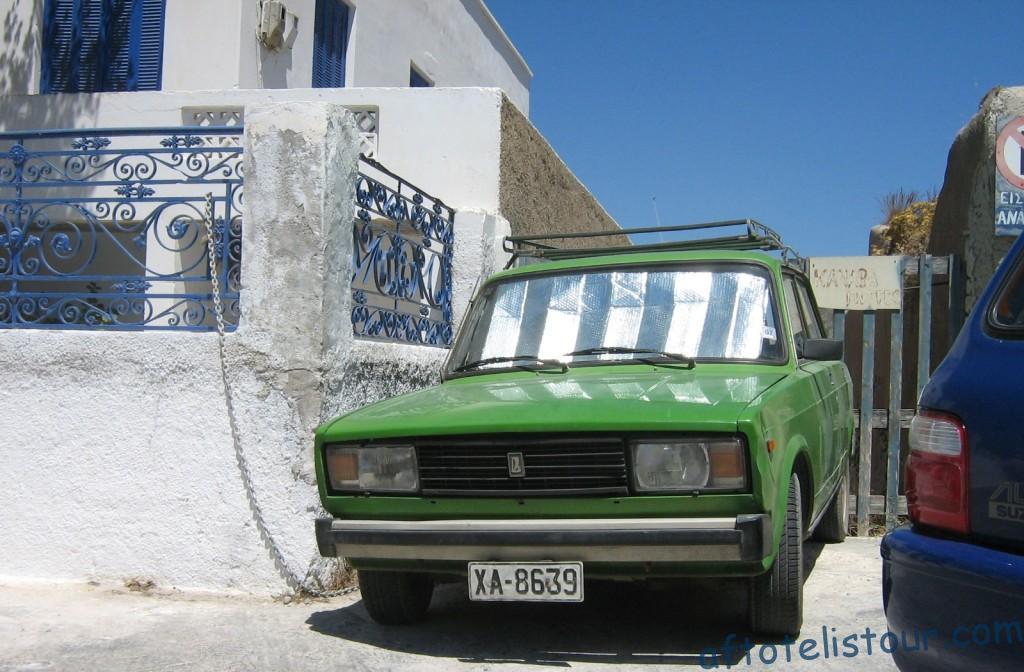 ВАЗ 2105 на Санторини